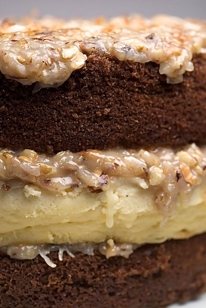 German Chocolate Cheesecake Recipe ~ Says: It's a wonderfully delicious combination of German chocolate cake and cheesecake. It's way over the top – definitely a special occasion kind of dessert. Honestly, the cheesecake alone is worthy of any special event.