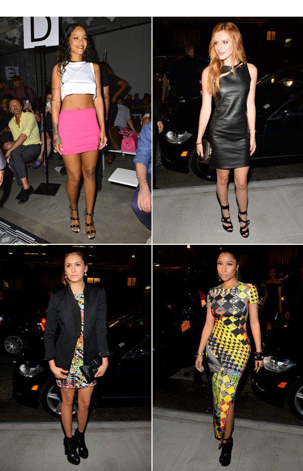 Rihanna, Nicki Minaj & More: Best Dressed At Versus Versace�Show