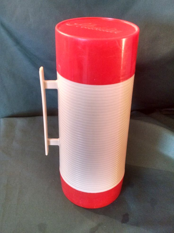 Vintage Aladdin Thermos Hy Lo Wide Mouth, Plastic Handle, thermos, Dura Clad Design, One Quart, Aladdin, Vintage Thermos, 1970's by Vintagepetalpushers on Etsy