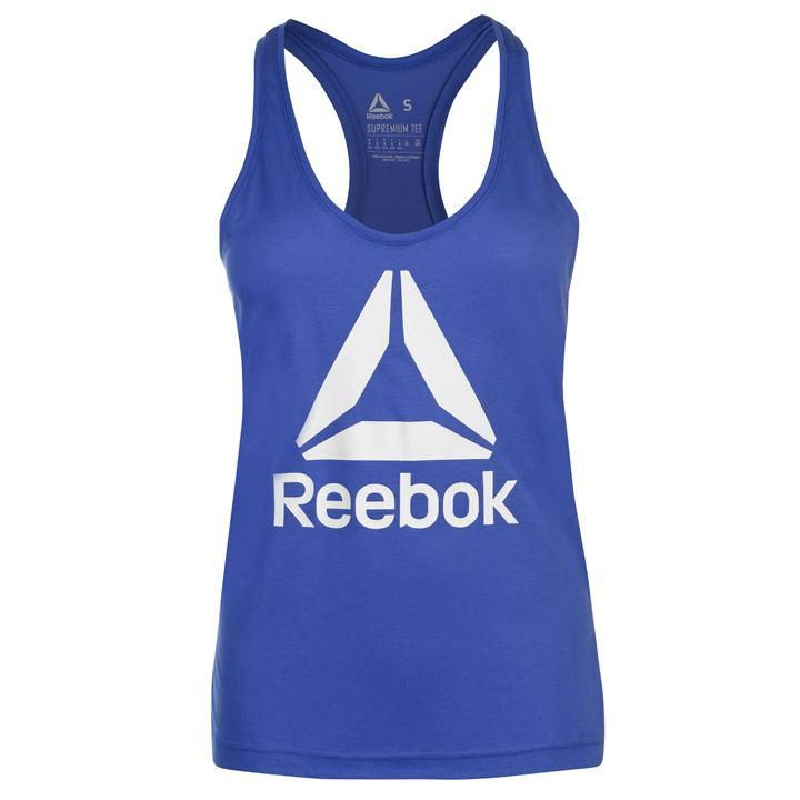 de9ab1b5d8 Reebok Logo Tank Top Ladies | Potential Treats | Athletic tank tops ...