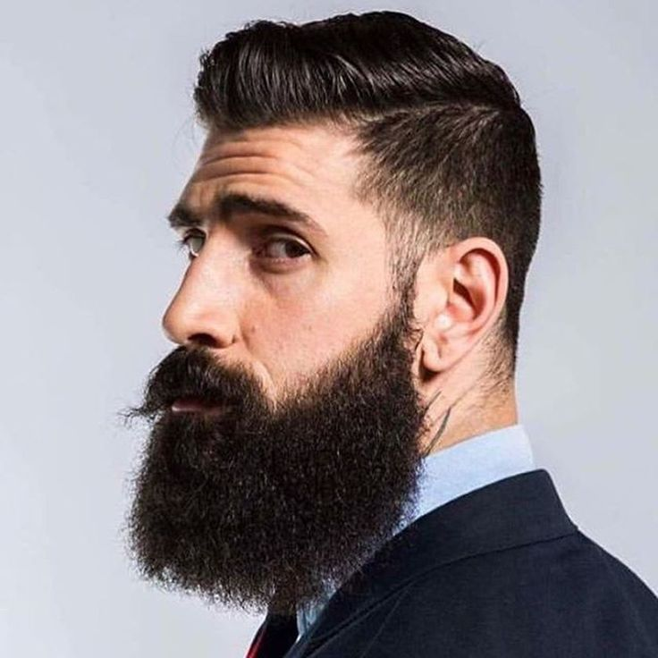 Square Styles Shave Or Trim With Sharp Precise Lines Your Cheekbones Keep Beard Short On The Sides And Fuller Chin To Take Advane Of