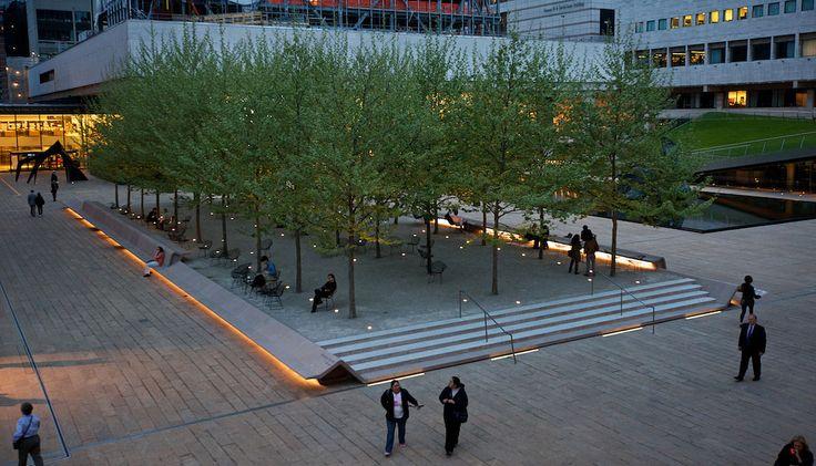 Barclays Capital Grove, Hearst Plaza, Lincoln Center.