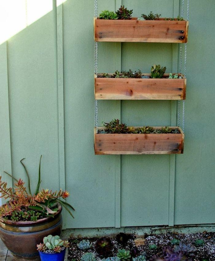 40+ Fabriquer une jardiniere en palette pour fleur inspirations