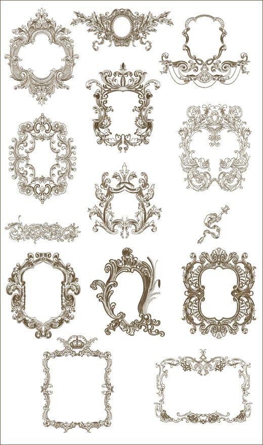 """Medieval Frames 2 8""""x10"""" Jumbo Hoop"""