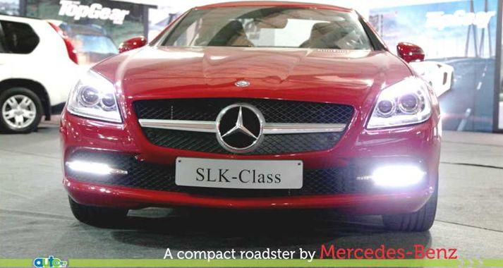 Mercedes Benz In Auto Expo
