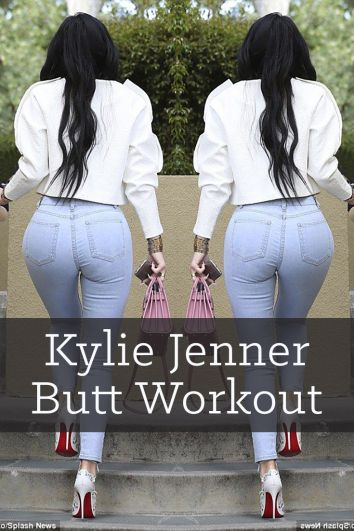 Kylie Jenner Butt Workout & Wedgie Jeans Booty Shaping Plan