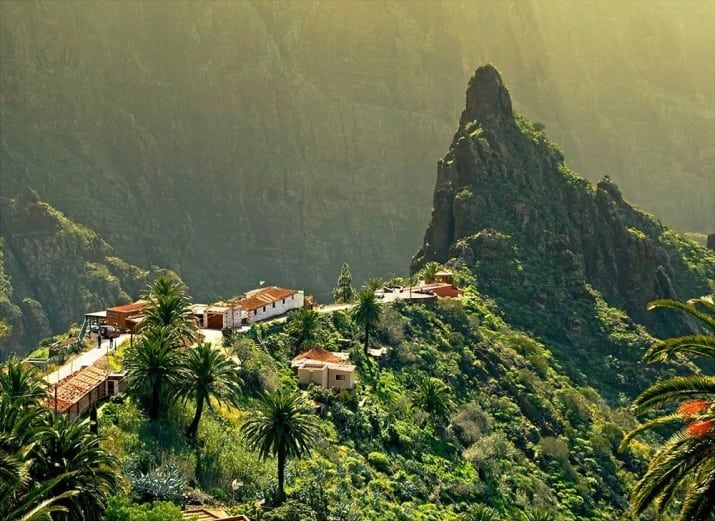 A must see in Tenerife, if you're feeling brave hire a car, or take the public bus! Have dinner here with, arguably, one of the best views in the world.