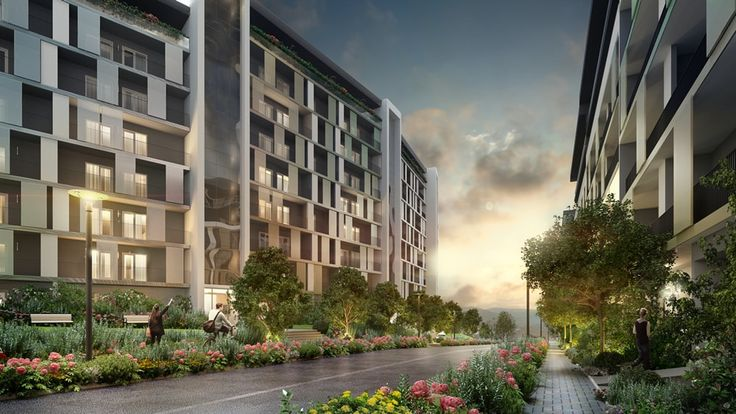 Cum va arata comunitatea Sophia Residence, dupa finalizarea ultimelor imobile.