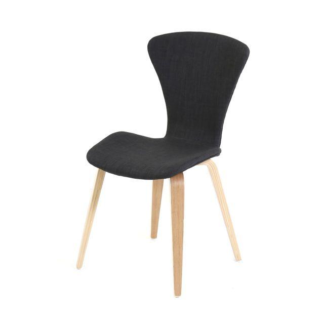 Lebrun Chaise confort noire Hudson | Mobilier de jardin ...