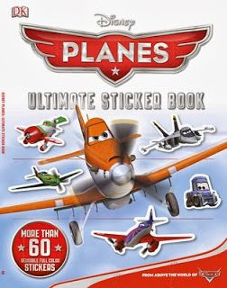 Glimpse: DK Discovery Day ~ Planes Ultimate Sticker Book ~ GIVEAWAY!