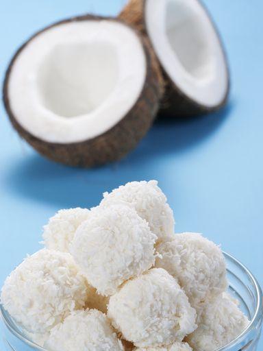 boules de neige (ou truffes à la noix de coco)