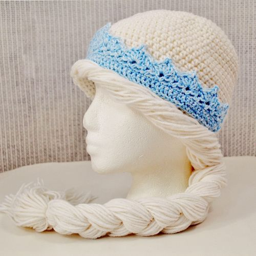 Free Crochet Pattern Frozen Elsa Hat : 17 Best images about frozen hats on Pinterest Crochet ...