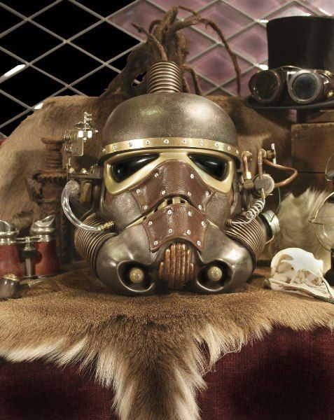Amazing Steampunk Stormtrooper Helmet: Red Dog 3 From Noble Studios  Presents Some Scintillating Work.