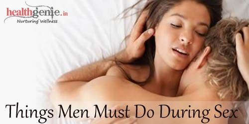 What Should Girls Do During Sex
