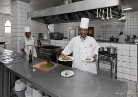 chef at Le Mirage & spa