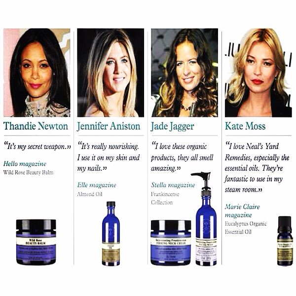 I've been getting my Thandie on with her secret weapon Neal's Yard Beauty Balm, this winter chill needs some serious nourishment! Plus buy any Neal's Yard product from us before 14th July and get a FREE Franckincense facial mist or oil free eye makeup remover. Favourites of Jade Jagger. Simply place your order and leave us your preference in the comments. www.planetbotanic.com.au/collections/neals-yard