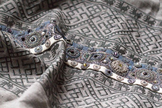 Наши фартуки с русскими традиционными узорами и вышивкой Levadnaja Details