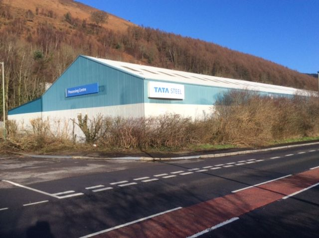 Capital Coated #Steel Headquarters Refurbishment Project. Old building view from road