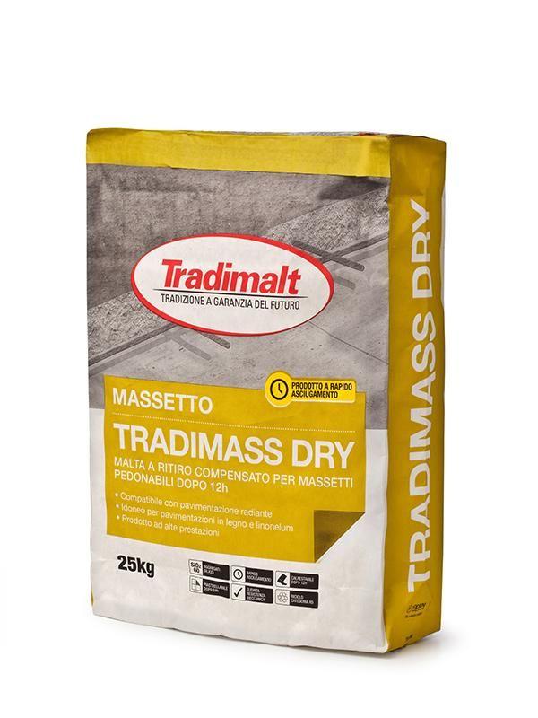 TRADIMASS DRY - Intonaco isolante malte intonaci edilizia premiscelati cementizi