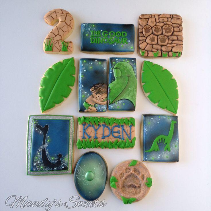 The good dinosaur cookies