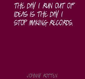 Johnny Rotten Quotes | Johnny Rotten Quotes