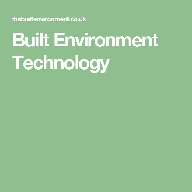 Built Environment Technology
