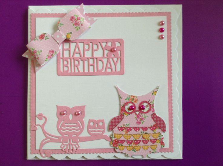 Craftwork cards owl