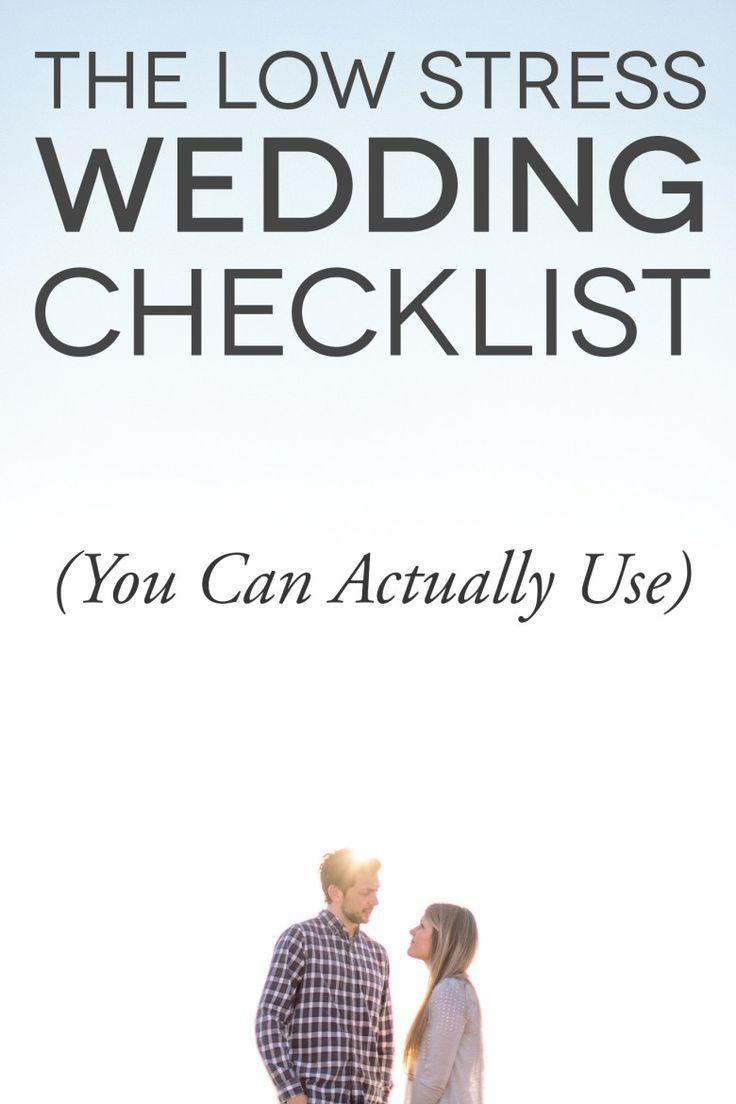 Wedding To Do Checklist Imovil Co