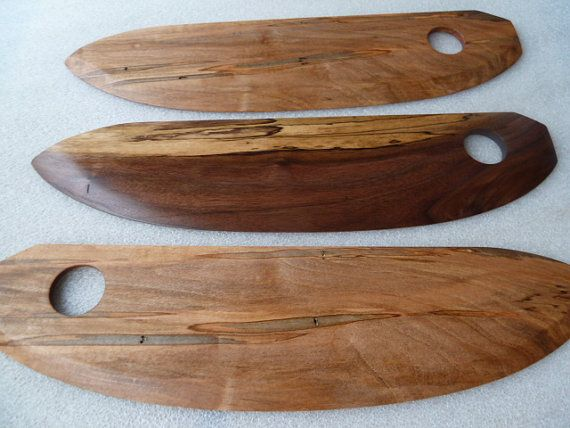 Ready to Ship Now - Wood Pizza Cutter Knife