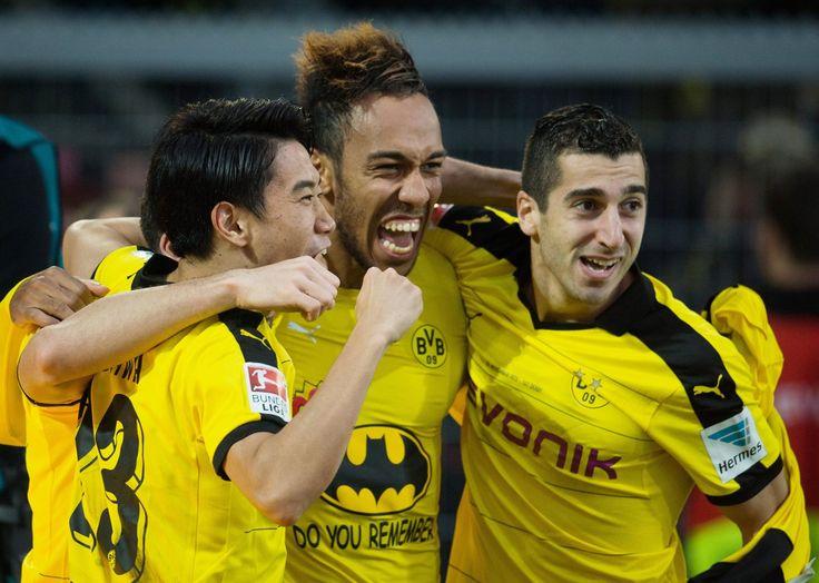 Borussia, derbysieger :) shinji, auba, miki :)