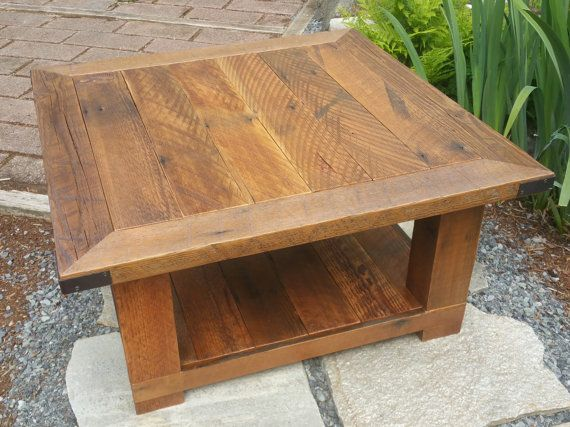12 best images about Rustic square coffee table on Pinterest New