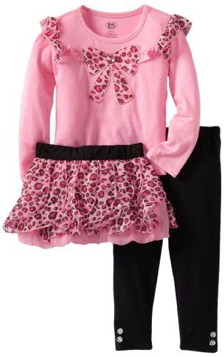 Young Hearts Girls 2-6X 3 Piece Leopard Bow Legging Skirt Set, Bright Pink, 3T Young Hearts,http://www.amazon.com/dp/B008KK182G/ref=cm_sw_r_pi_dp_NhLwtb1J0CBFHAA1