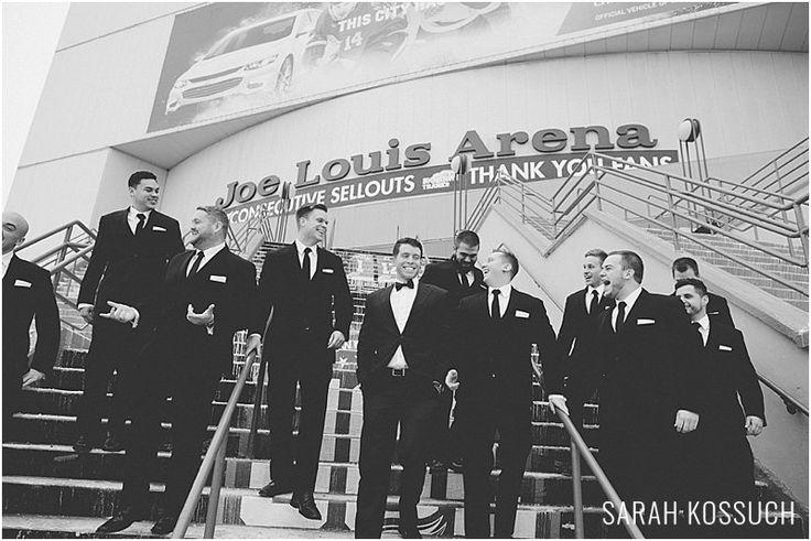Aloft Hotel, Gem Theatre Detroit, Gem Theatre Detroit Wedding, Winter Wedding Sarah Kossuch Photography, Michigan Wedding Photographer, Comerica Park, Joe Louis Arena