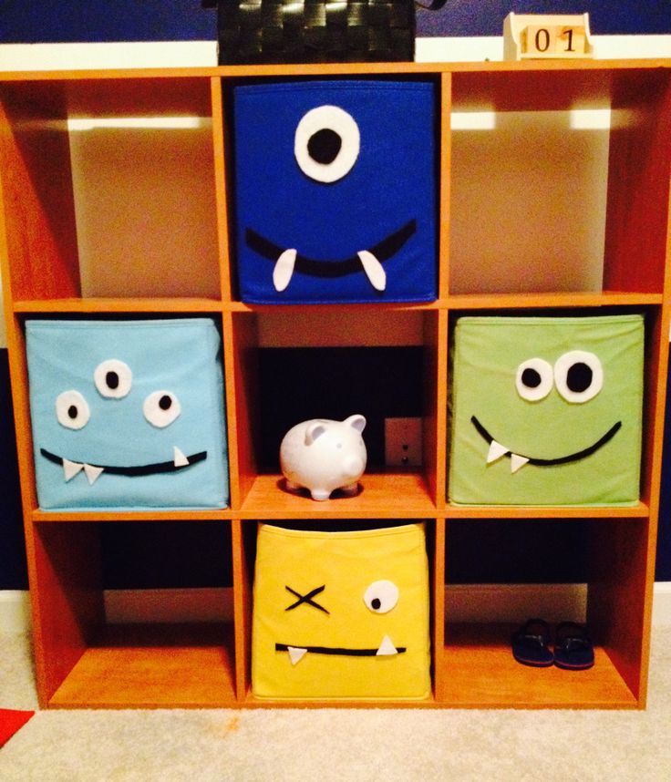 Monsters baby boy nursery