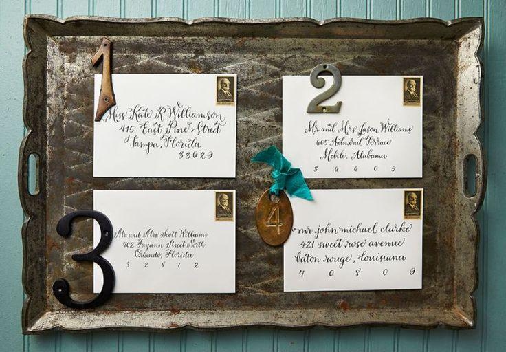 Addressing Wedding Invitation Etiquette: 1000+ Ideas About Addressing Wedding Invitations On