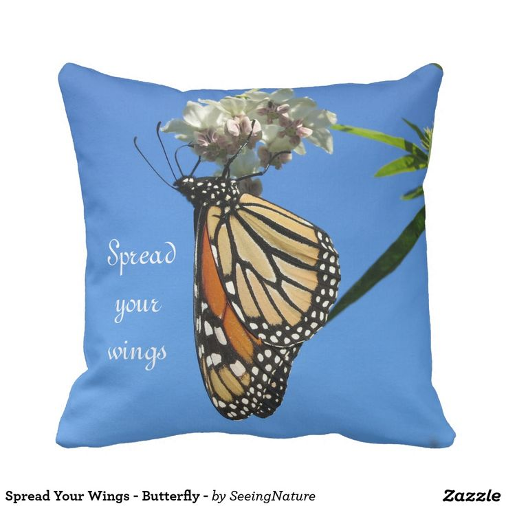 Spread Your Wings - Butterfly - Pillow