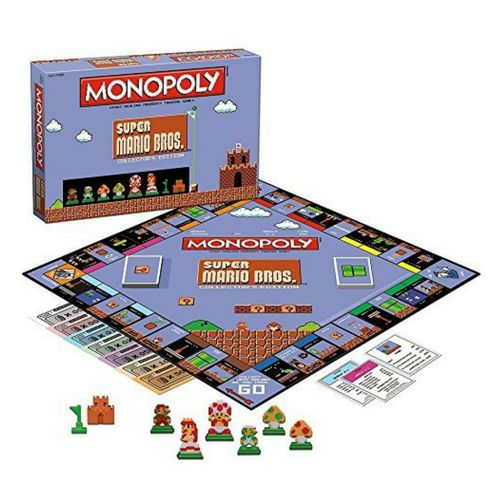 Super Mario Bros Monopoly Game