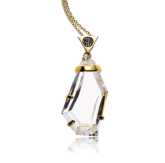 SAMANTHA WILLS - ROMANCING THE STONE NECKLACE - CLEAR