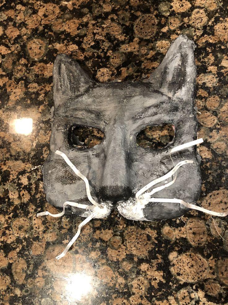 DIY Pet cemetery cat mask Cat mask, Pet cemetery, Pet