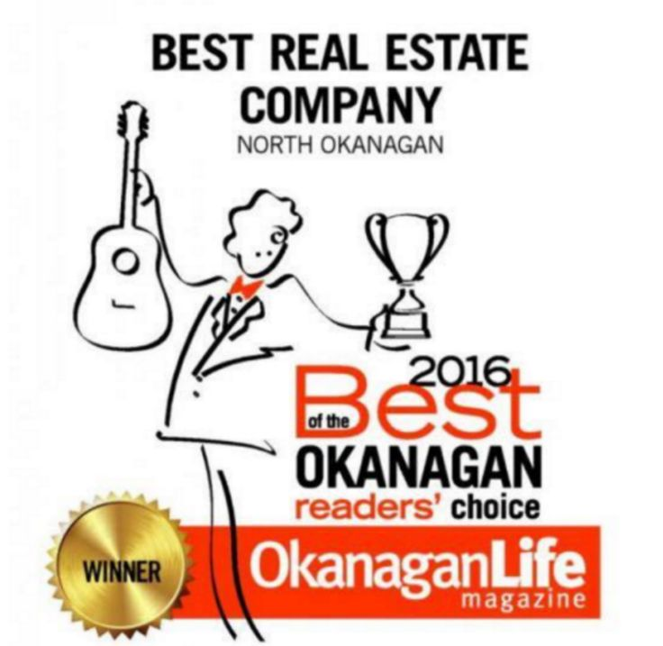 RE/MAX is named Best Real Estate Company in the North Okanagan by the readers of Okanagan Life Magazine! Thank You! #RealEstate #Remax #VernonBC #NorthOkanaganRealtors