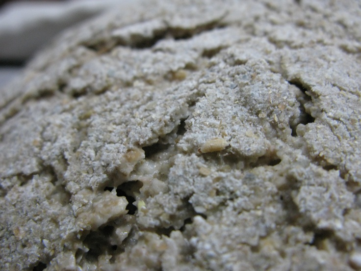 Step 6: Close-up of surface structure before oven.