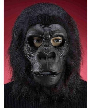 Hairy Black Gorilla Mask