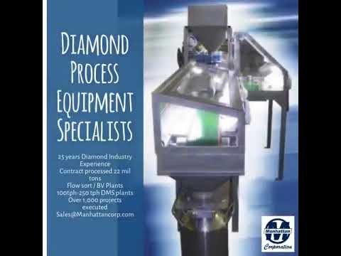 Have a #diamondmine in #Africa ? Need Equipment Turnkey or Component? Contact #Manhattanproeng look no further , #XRT #Flowsort #X-ray #Dms #diamondrecovery Diamond Process Equipment Specialists https://youtube.com/watch?v=4fLkPZBnXCI