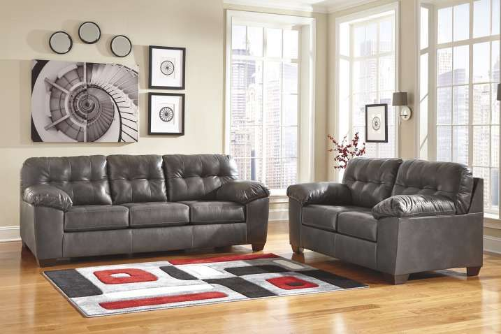 Sofa Grey Leather Sofa Sectional Charcoal Gray And Loveseat Sofas With Images Ashley Furniture Living Room Grey Sofa Living Room Grey Living Room Sets