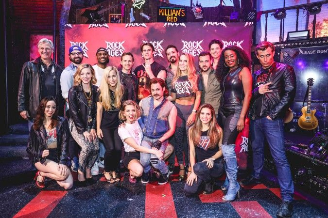 A Sneak Peek At Rock Of Ages Off Broadway Rock Of Ages Broadway Playbills New World Stages
