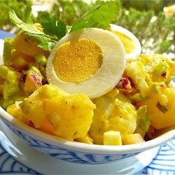 Old Fashioned Potato Salad - Allrecipes.com....just a note, I use chopped dill pickles instead of the relish in this :)