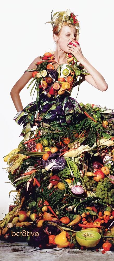 edible fruit salad dress