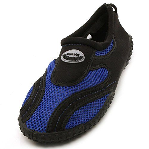 Men's All Purpose Water Aqua Shoes Beach Ocean Shore Surf Reef Rocks Blue Sz 7 * Read more reviews of the product by visiting the link on the image.