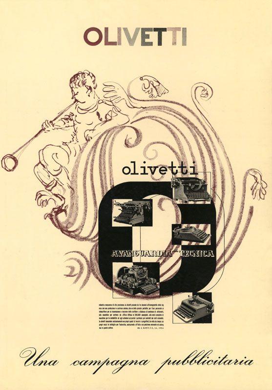 """Olivetti, storia di un'impresa - """"Una campagna pubblicitaria"""" per la Studio 42: tavola n. 6"""