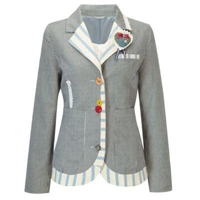 Joe Browns Multi coloured tremendous ticking jacket- at Debenhams.com